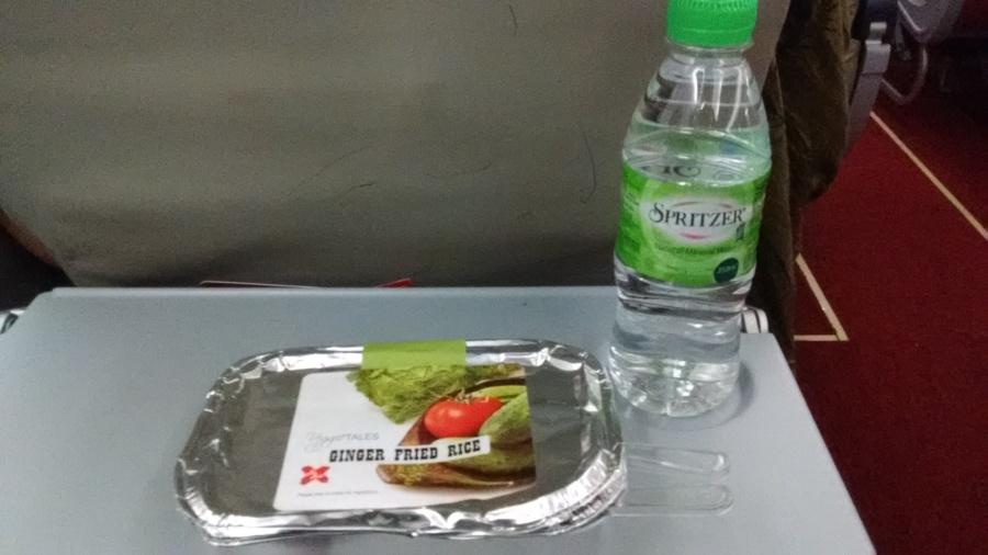 Pre-booked Vegetarian Meal on Air Asia X (Delhi- Kuala Lumpur)